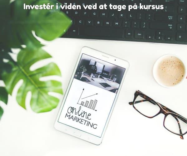 Investér i viden ved at tage på kursus