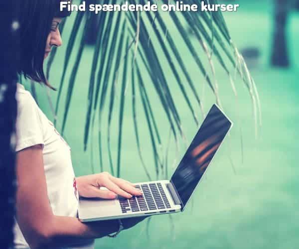 Find spændende online kurser