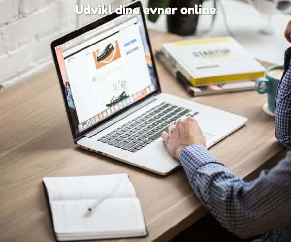 Udvikl dine evner online